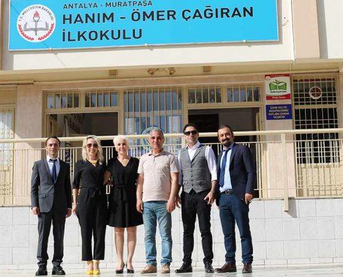 """""""Okulumda Günışığı"""" Eğitim Semeri. Antalya Muratpaşa Hanım - Ömer Çağıran İlkokulu-2018"""