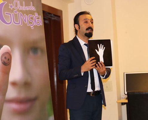 """""""Okulumda Günışığı"""" Eğitim Semeri. Antalya-Alanya Güzelbağ Ortaokulu-2018"""